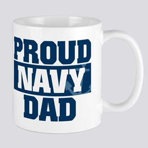 US Navy Proud Navy Dad Mug
